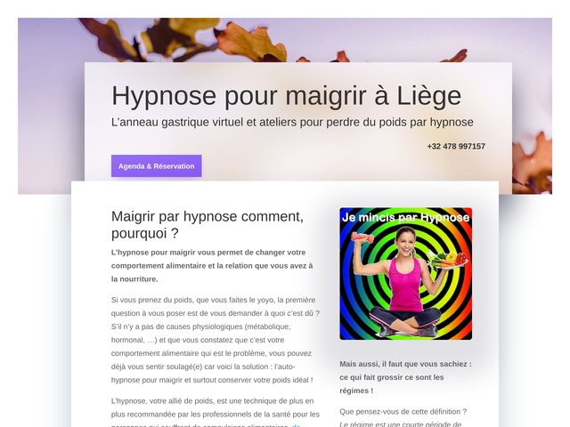 hypnose-pour-maigrir.be